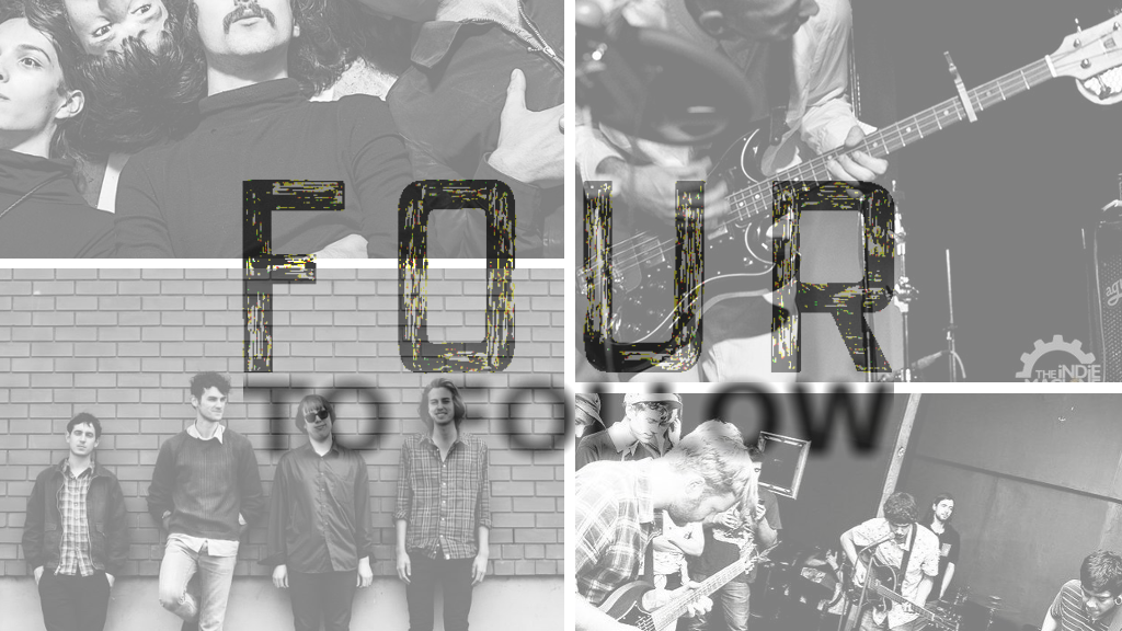 THE FOUR TO FOLLOW A SELECTIONS OF THE BEST NEW MUSIC ALL OVER AROUND 2