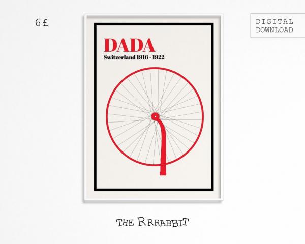 dadaism downloadable poster